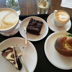 Standort Bagel wechseln trifft Kaffee