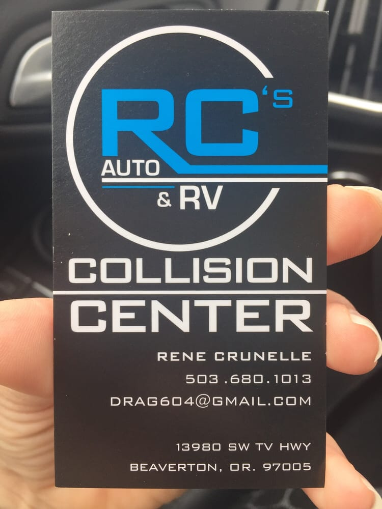 RC Collision Center: 13980 SW Tualatin Valley Hwy, Beaverton, OR