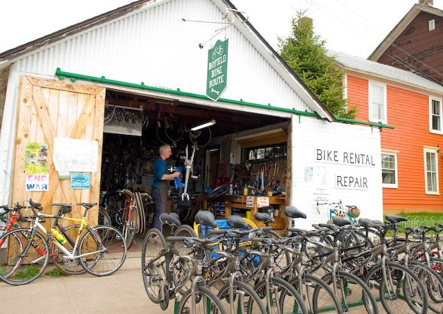 Bayfield Bike Route: 251 Manypenny Ave, Bayfield, WI