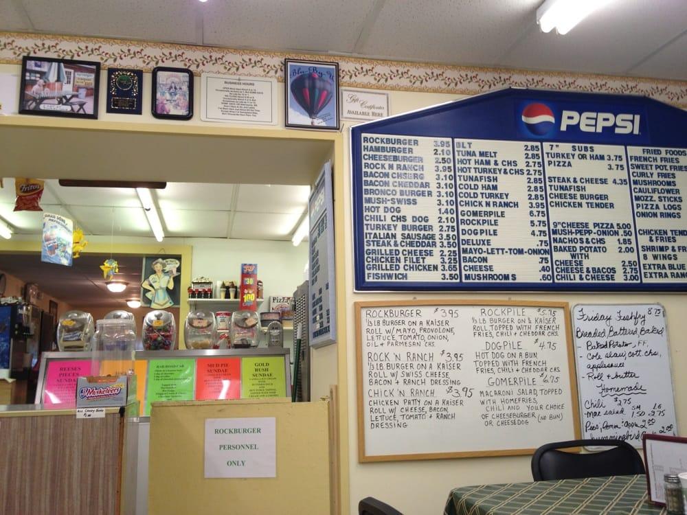 Rockburgers: 3511 Ray Hill Rd, Andover, NY