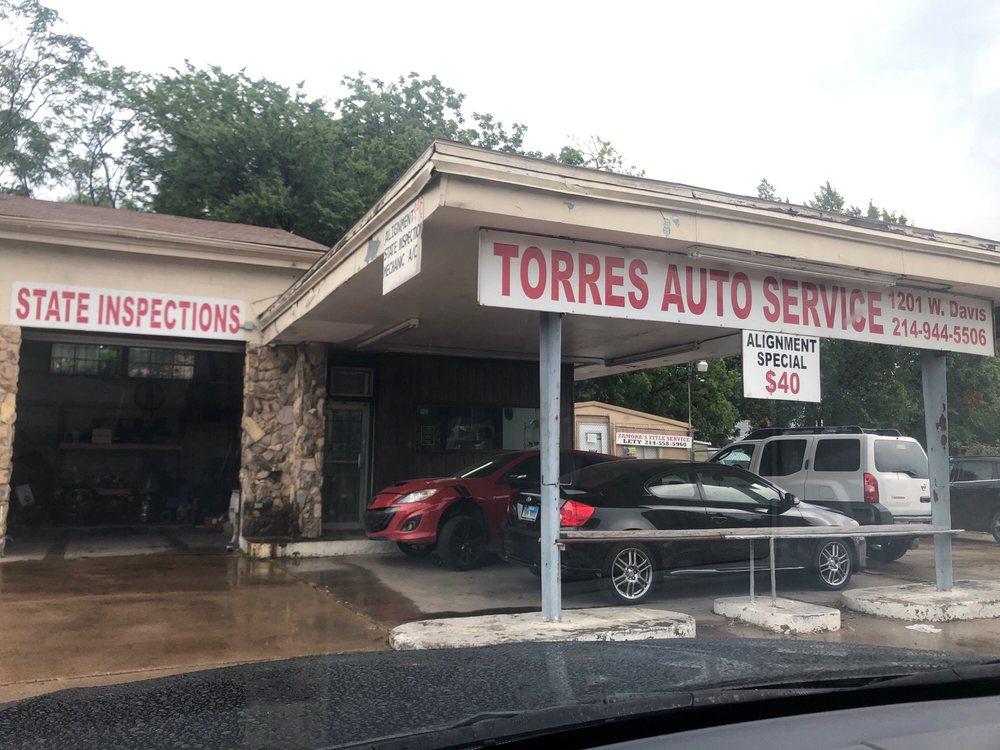 Torres Auto Service: 1201 W Davis St, Dallas, TX