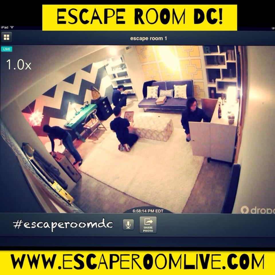 Escape Room Live Dc  S