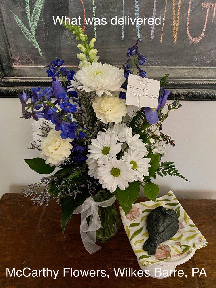 McCarthy Flowers: 308 Kidder St, Wilkes Barre, PA
