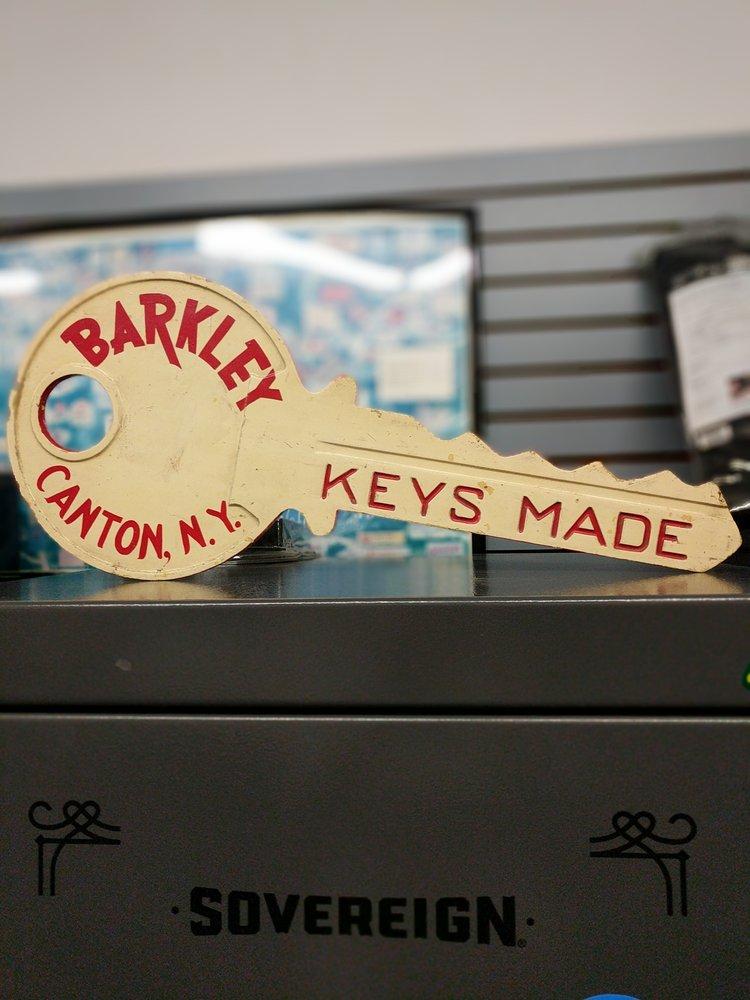 Barkley's Safe & Lock: 16 Court St, Canton, NY
