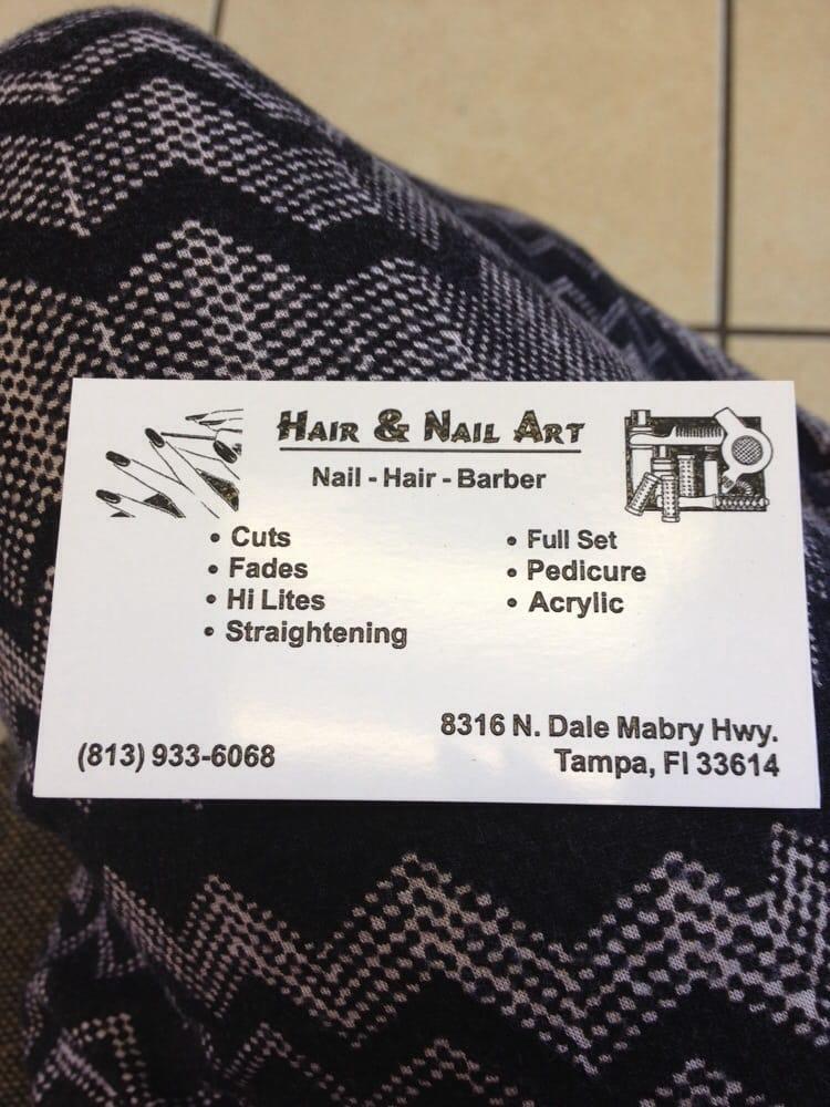 Hair & Nail Art - CLOSED - Hair Salons - 8316 N Dale Mabry Hwy ...