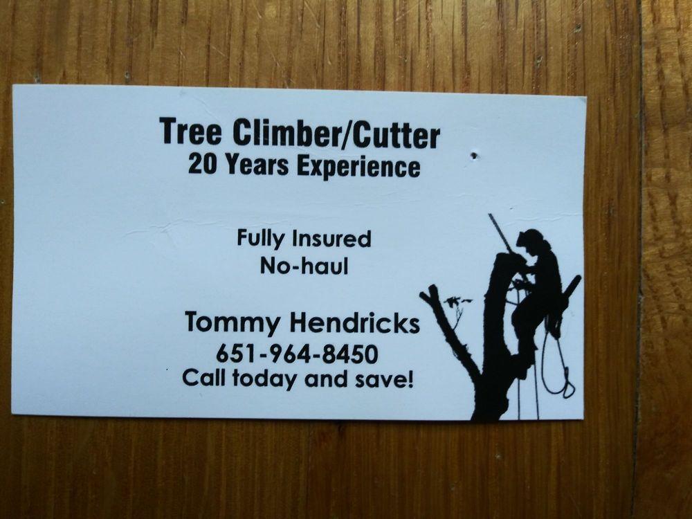 T Hendricks Tree Climber & Cutter: Castle Hayne, NC