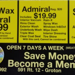 Car Wash In Groton Ct