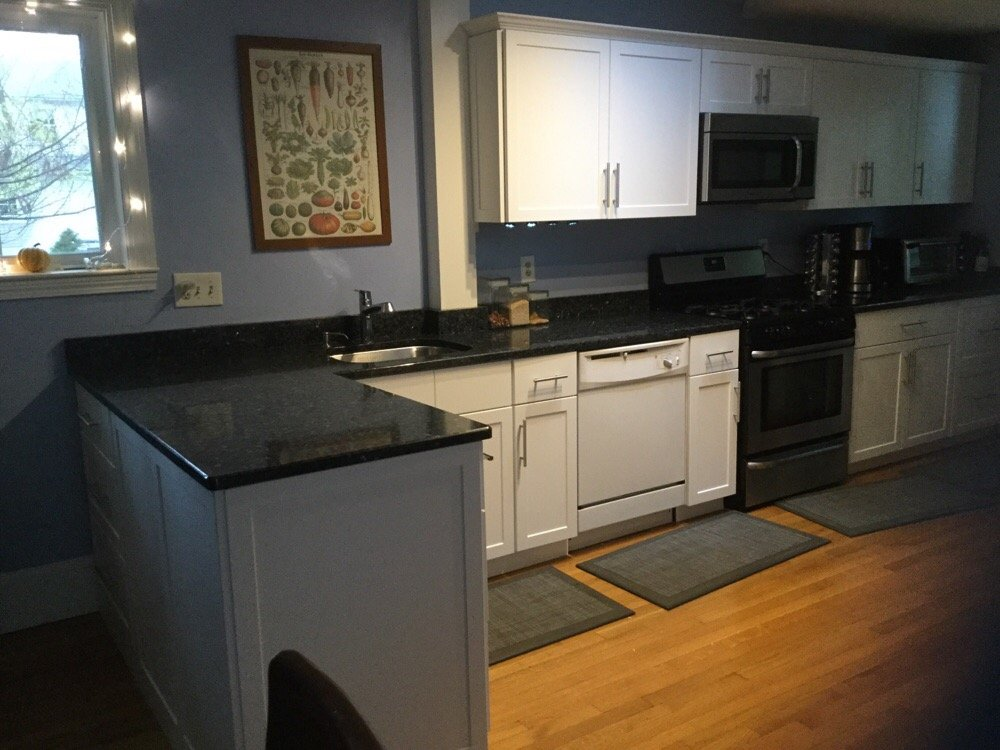 Refaced Kitchen Cabinets By Kitchen Tuneup Yelp