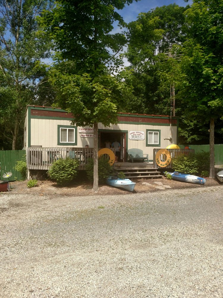 River Run Canoe Livery: 600 S Main St, Scottville, MI