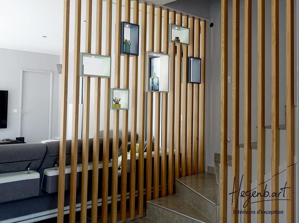 Claustra Design En Chene Pour Garde Corps D Escalier