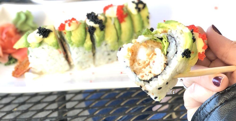 Spice 55 Thai and Sushi Restaurant: 705 Brucken Stasse, Helen, GA