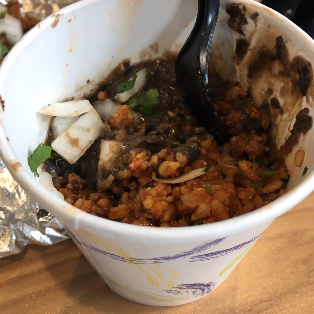 Food from burrito burrito