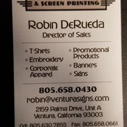 cd4aeb55 Ventura Signs & Screenprinting - Screen Printing - 2159 Palma Dr, Ventura,  CA - Phone Number - Yelp