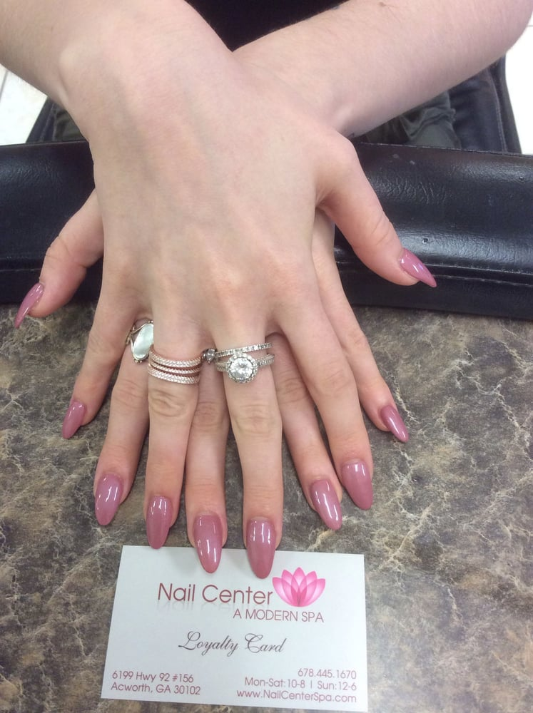 Manicures - Pedicures - Solar (Pink & White) - Shellac Gel Nails ...