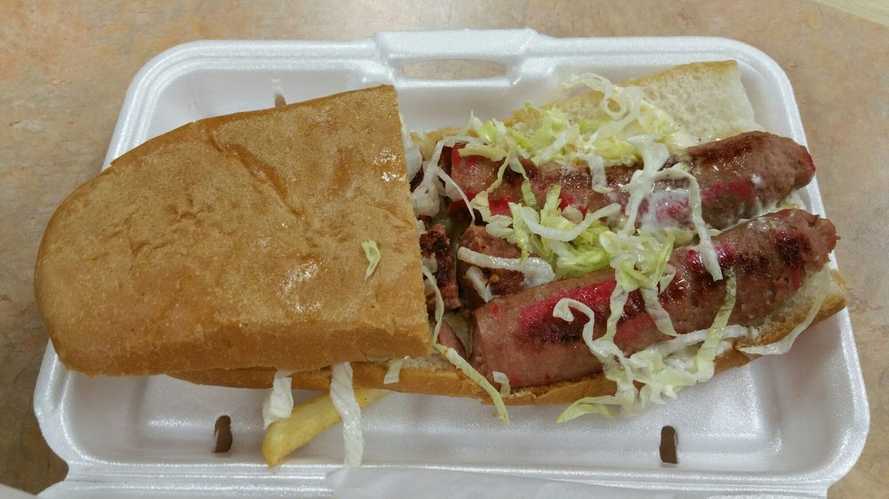 Food from Po Boy Express