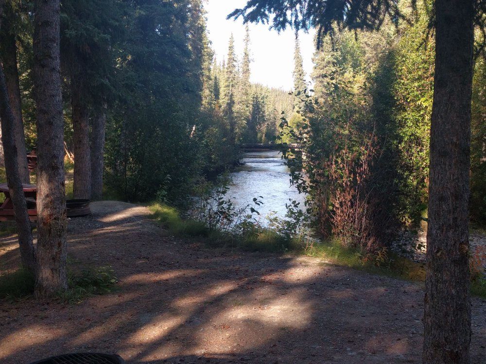 Tolsona Wilderness Campground: 173 Glenn Hwy, Glennallen, AK