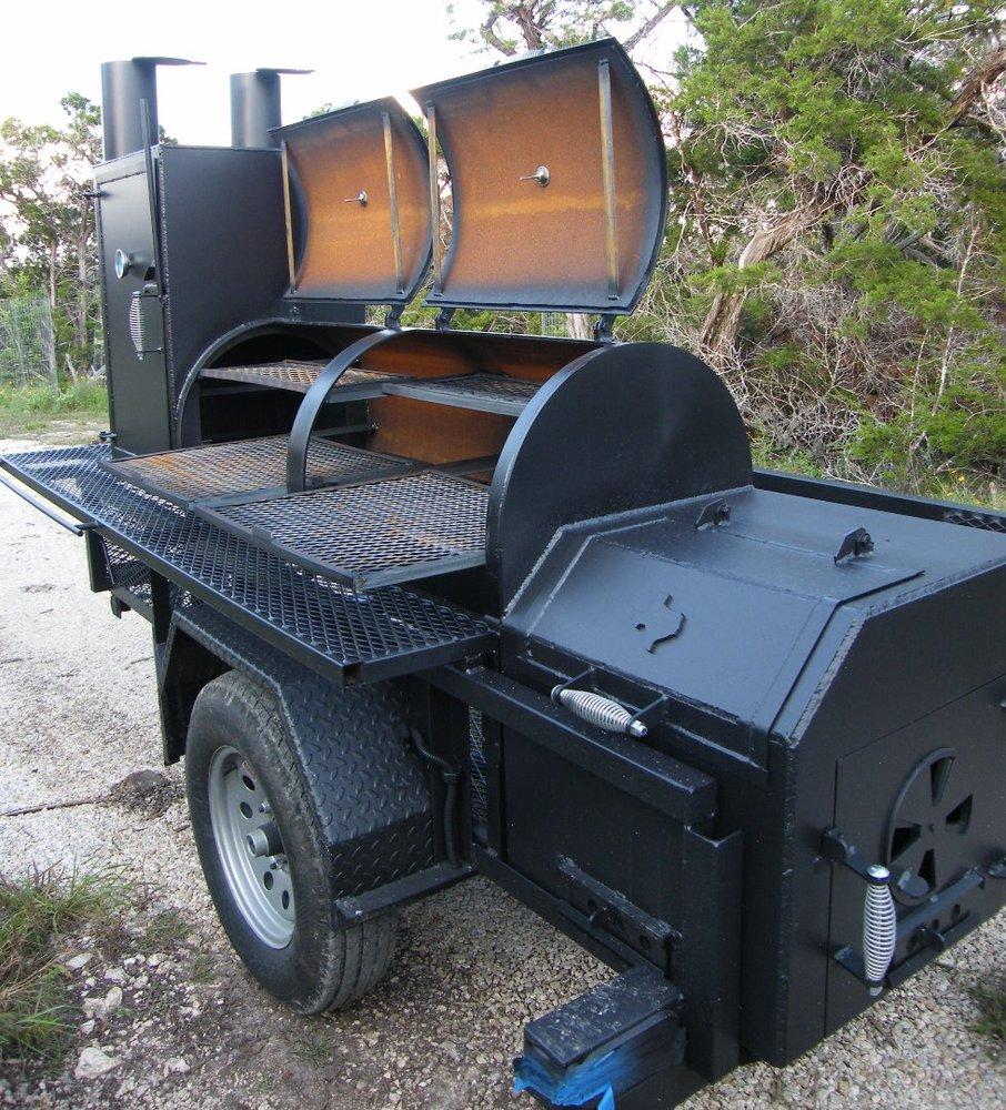 trailer pit cater king matt s bbq pits llc yelp