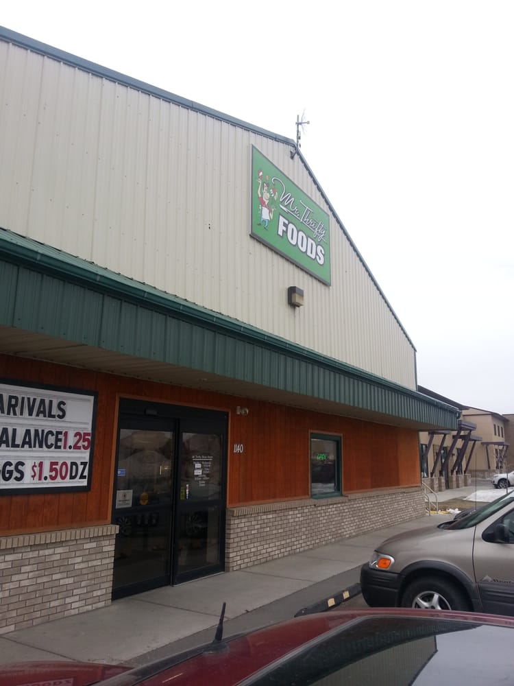 Mr Thrifty Foods Grocery 1140 S 29th St Billings Mt Phone