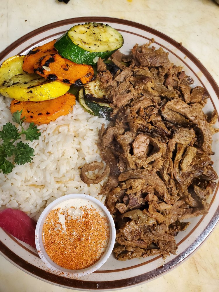 Food from Le Kabob