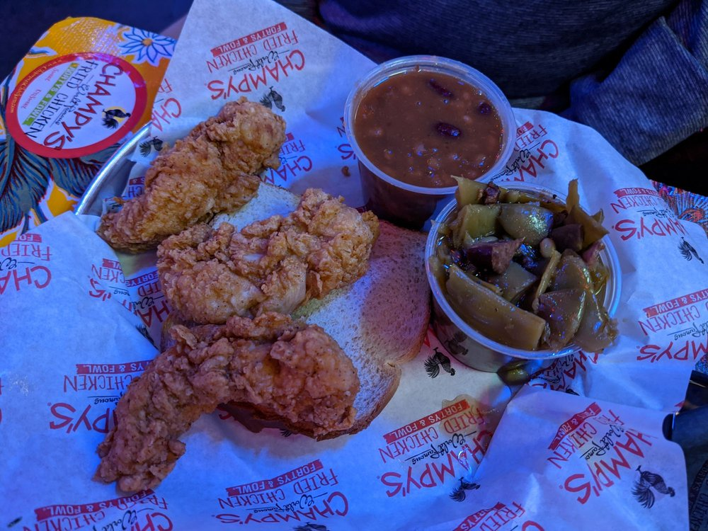 Champy's Famous Fried Chicken: 6515 Ringgold Rd, Chattanooga, TN