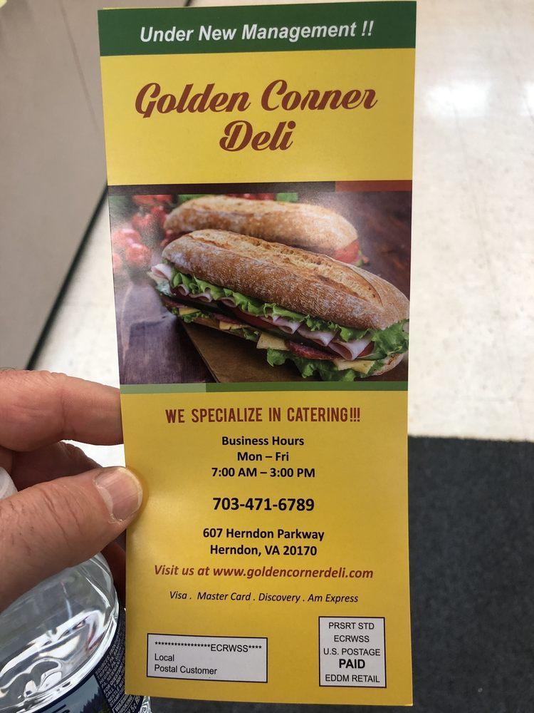 Golden Corner Deli: 607 Herndon Pkwy, Herndon, VA