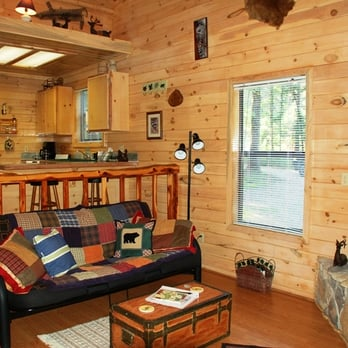 Photo Of Friendly Pines Cabins   Broken Bow, OK, United States. Living Area
