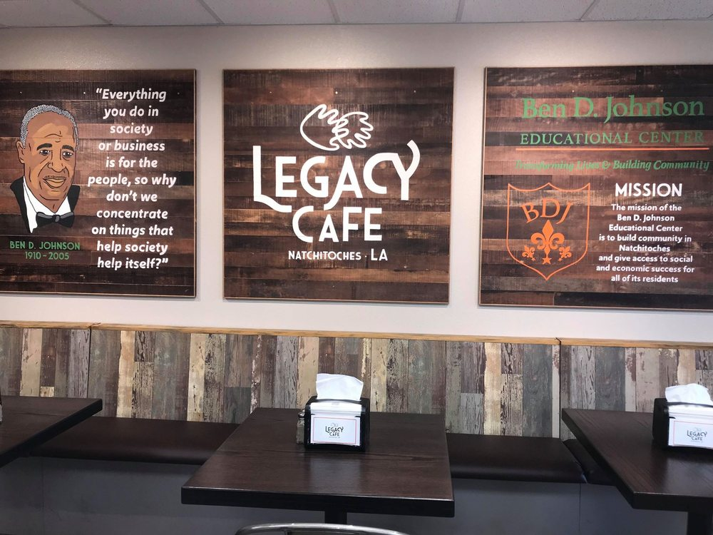 Legacy Cafe: 400 MLK Dr, Natchitoches, LA