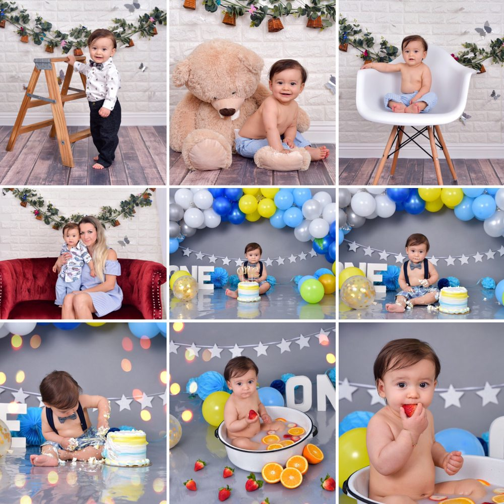 Cake smash session The session includes: portraits of the