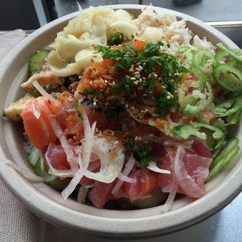 Go fish poke bar 1117 photos 787 reviews japanese for Fish me poke menu