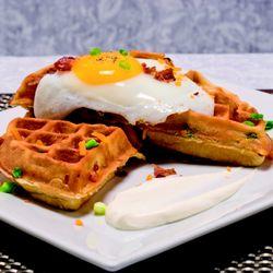 Waffles Incaffeinated