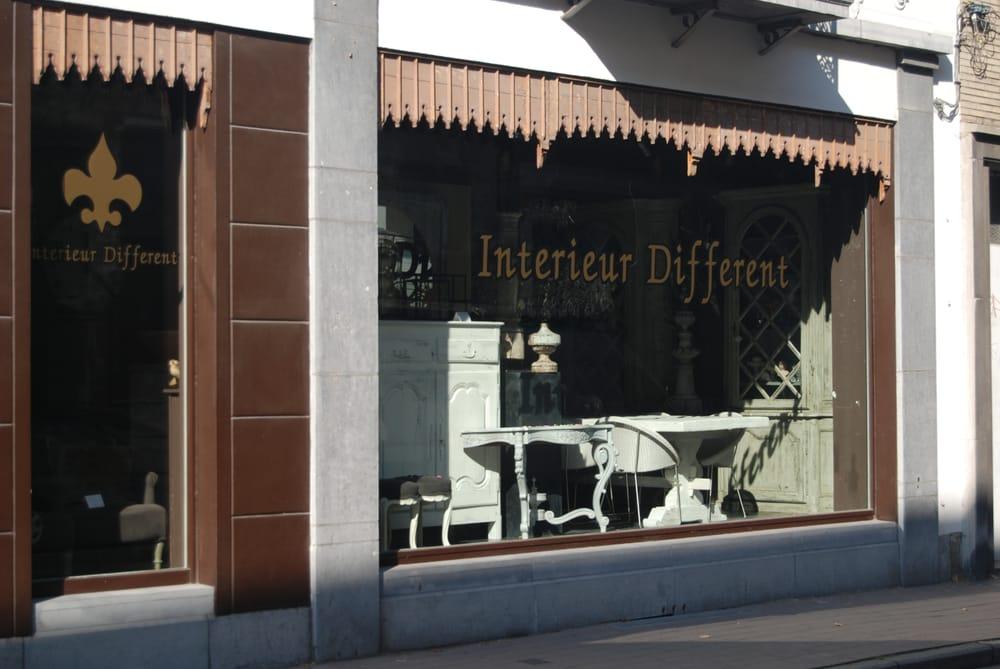 interieur different magasin de meuble kloosterstraat 30 sint andries anvers antwerpen. Black Bedroom Furniture Sets. Home Design Ideas