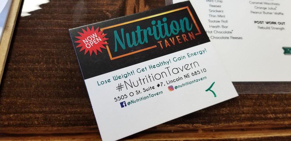 Nutrition Tavern