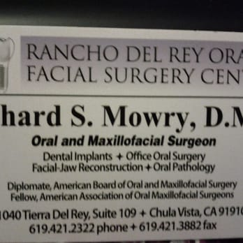 Rancho del rey oral facial surgery center oral surgeons 1040 photo of rancho del rey oral facial surgery center chula vista ca reheart