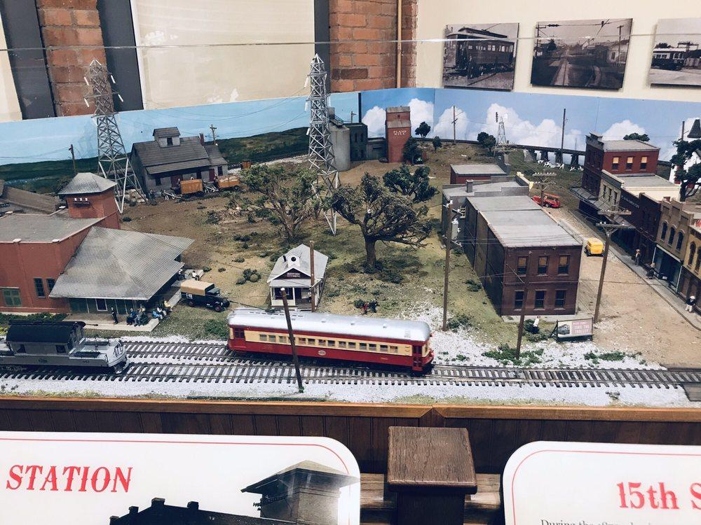 Interurban Railway Museum: 901 E 15th St, Plano, TX