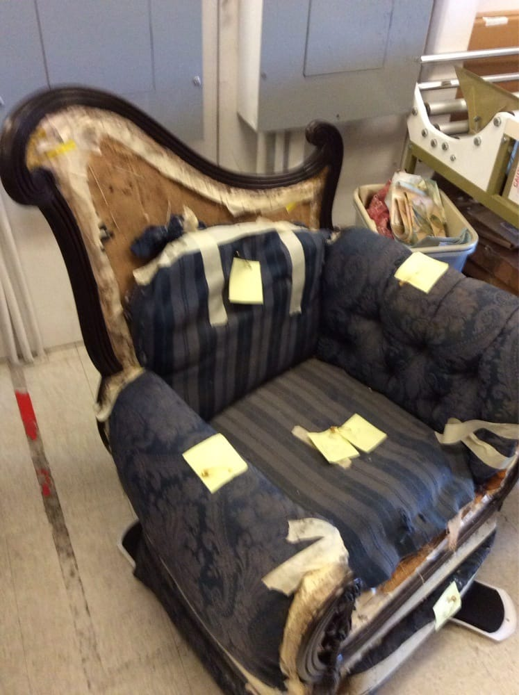 Mattress Pasadena Ca This heirloom chair came into the store like this. We reupholstered it ...
