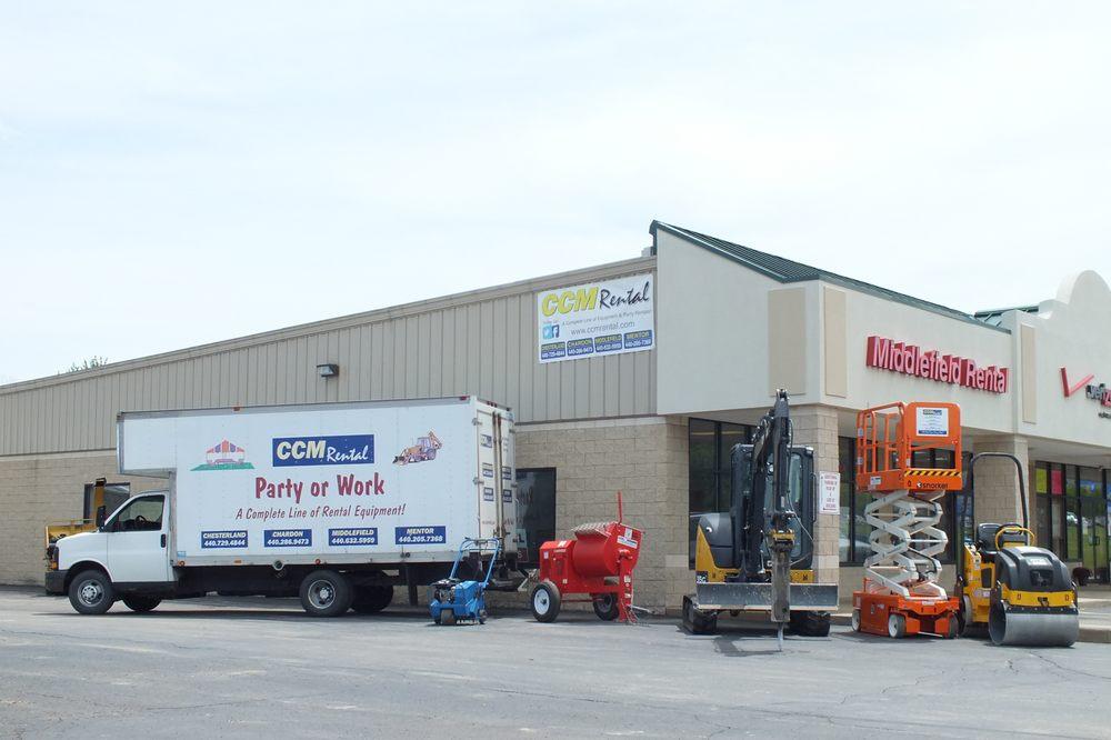 Ccm Rental Centers: 473 Center St, Chardon, OH