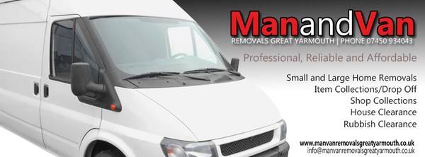 Man With A Van >> Man Van Removals Great Yarmouth Removals 4 Hawkins Avenue Great