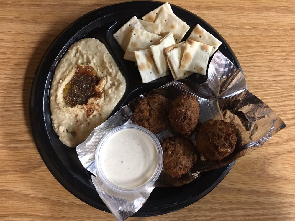 Food from Medi's Mediterranean Fusion