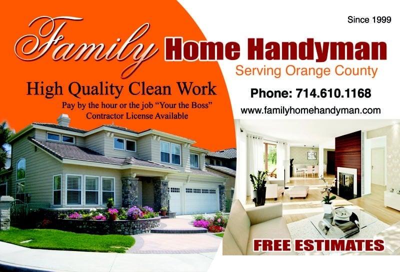 Family Home Handyman Handyman 2227 Joana Dr Santa Ana