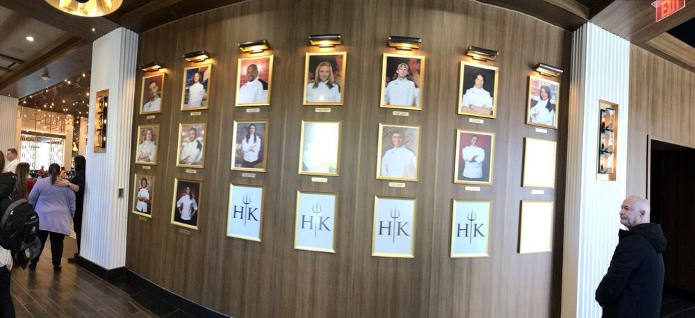 Photo of Gordon Ramsay Hell's Kitchen - Las Vegas, NV, United States. Wall of Hell's Kitchen Winners