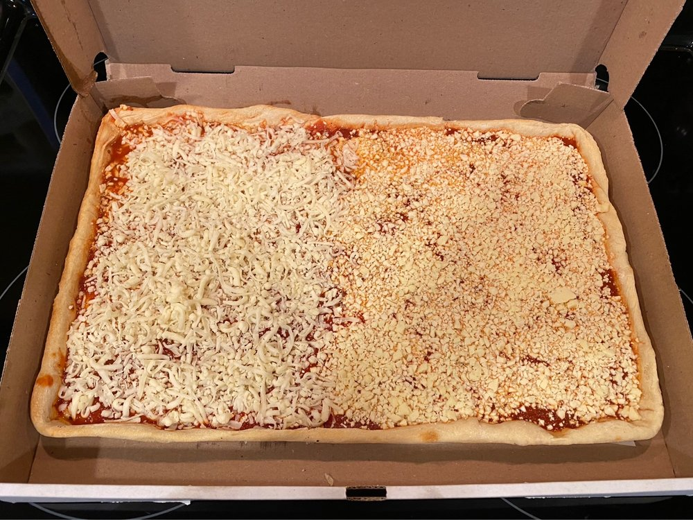 Food from Maroni's Pizza House