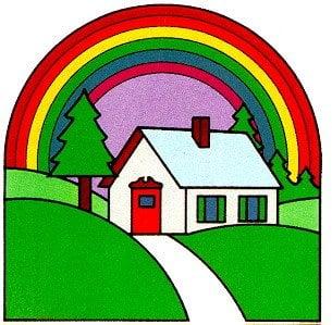 Sierra Rainbow Painting