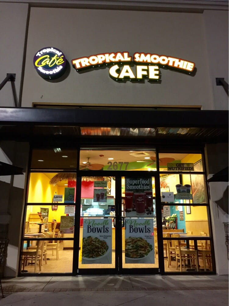Tropical Smoothie Cafe Kissimmee Fl