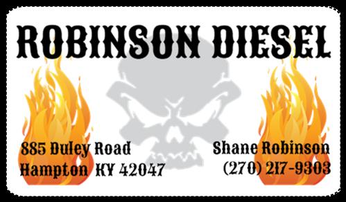 Robinson Diesel: 885 Duley Rd, Hampton, KY