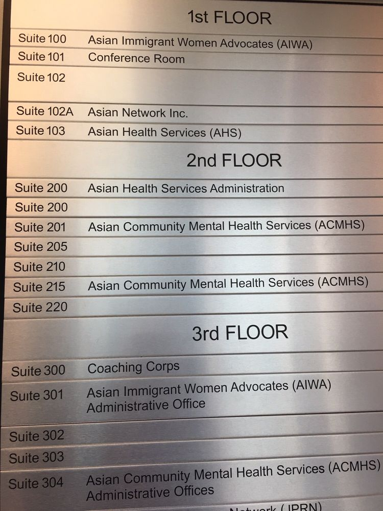 Asian Community Mental Health Counseling Mental Health 310 8th