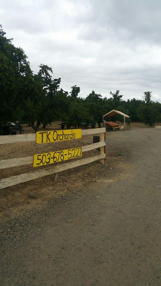 TK Orchards: 23513 NE Boones Ferry Rd, Aurora, OR