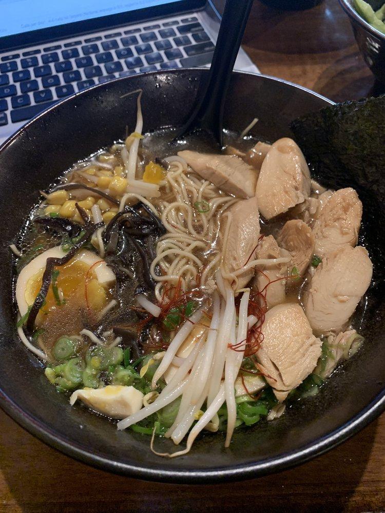 Food from Aji Ramen Bar