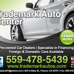 Photo of Trademark Auto Center - Fresno CA United States. Ad powered by  sc 1 st  Yelp & Trademark Auto Center - Car Dealers - 204 N Abby St Fresno CA ...