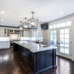 Beau Photo Of Bath Plus Kitchen Design Remodel   Alexandria, VA, United States.  Island