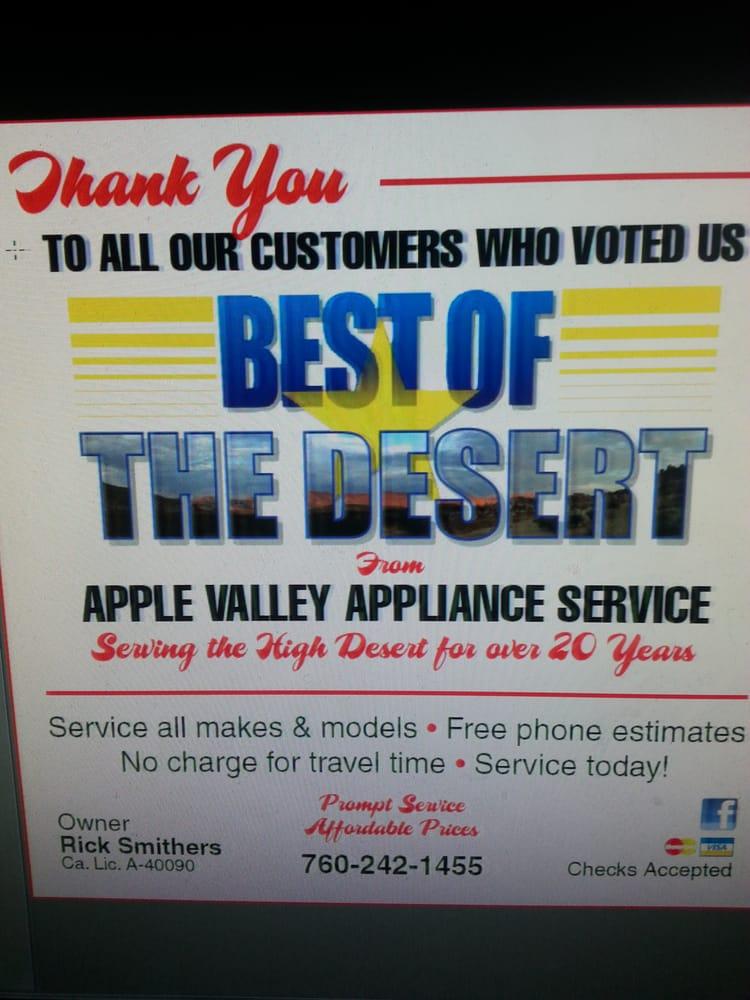 Apple Valley Appliance: Apple Valley, CA